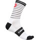 Castelli Podio Doppio 13 Socks Unisex white/black